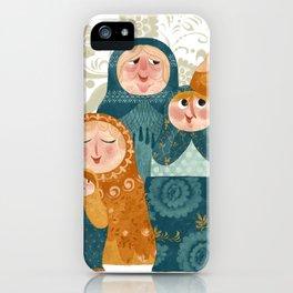 matryoshkas iPhone Case