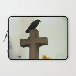 Gothic Glow Of Fall Laptop Sleeve