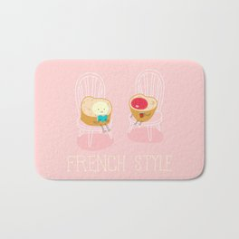 Apply you like every morning,then have a nice day !  Bath Mat