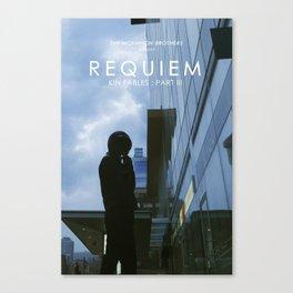 REQUIEM Poster Canvas Print