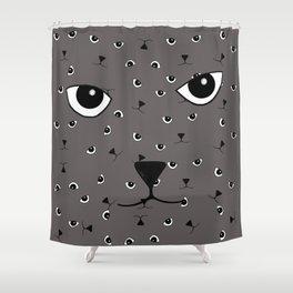 JD (John Doe) Cat Shower Curtain