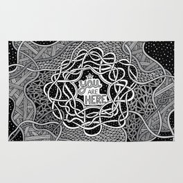 You Are Here Rug