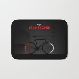 Night Rider Bath Mat