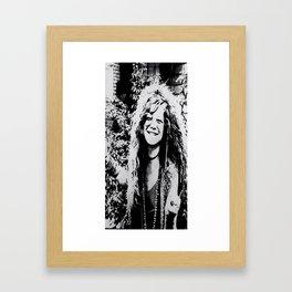 Janis Framed Art Print