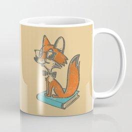 Fox Librarian - A Well Read Fox Coffee Mug