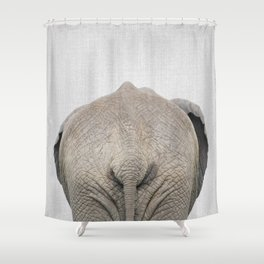 Elephant Tail - Colorful Shower Curtain