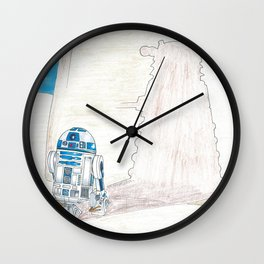 R2DWHO Wall Clock