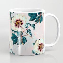 Flowery blooming with geometric Coffee Mug