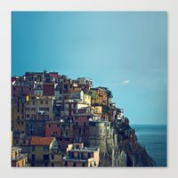 italy Canvas Prints featuring Italy by Rupert & Company