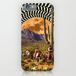 Illusionary Cowboys iPhone Case