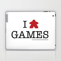I Meeple Games Laptop & iPad Skin