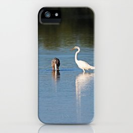 Under Great Supervision iPhone Case