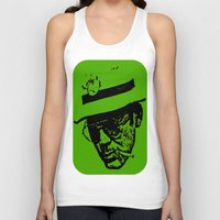 literature Tank Tops featuring Outlaws of Literature (Hunter S. Thompson) by Silvio Ledbetter