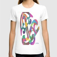 inspiration T-shirts featuring Inspiration by SaraLaMotheArt