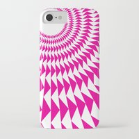 rave iPhone & iPod Cases featuring rave up by modernfred