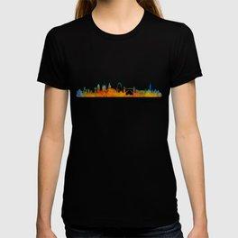 London City Skyline HQ v1 T-shirt