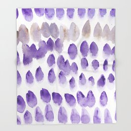8  | 190321 Watercolour Abstract Painting Throw Blanket