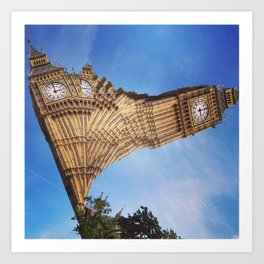 Big Ben, London (3) Art Print
