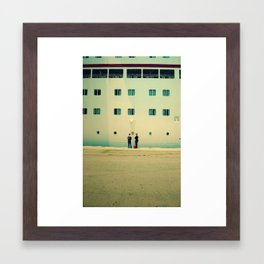 let's cruise Framed Art Print