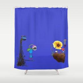 Hybrid Clan Shower Curtain