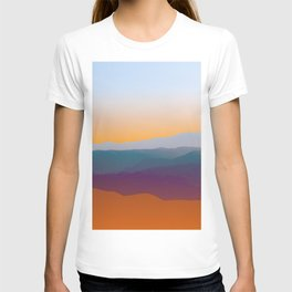 Sunset in Rhodes T-shirt