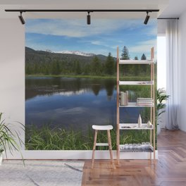 Peaceful Beaver Ponds View Wall Mural