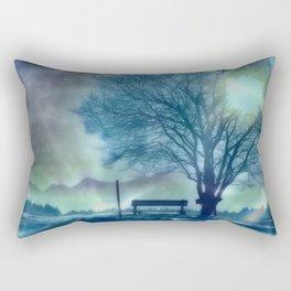 Amazing Winter Impression Rectangular Pillow