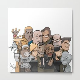 Vector collage SG1 Metal Print