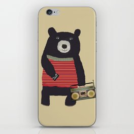 Boomer bear iPhone Skin