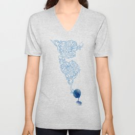 As The Music Plays Unisex V-Neck