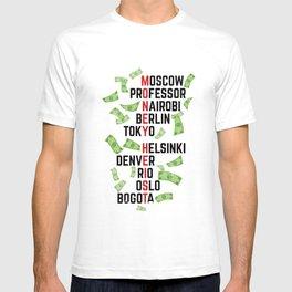 Money Heist Funny Acronim Design T-shirt