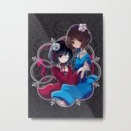 Mei & Fujioka (Classic edit) Metal Print