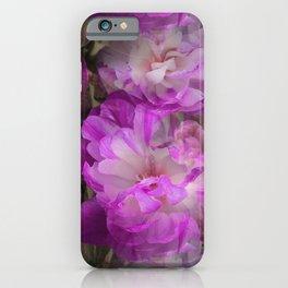 Plenty of peony tulips iPhone Case