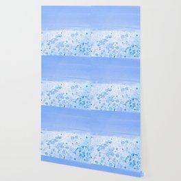 Rain Drop Blue Wallpaper