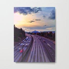 Life in the fast lane Metal Print