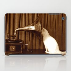 Her Mistresses Voice iPad Case