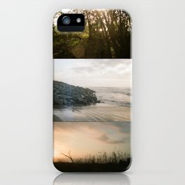 Peace + Freedom Panoramic iPhone Case