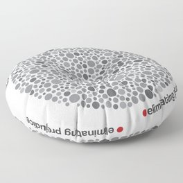 Colorblind Floor Pillow
