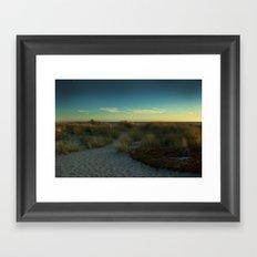 Stinson Beach at Sunset Framed Art Print