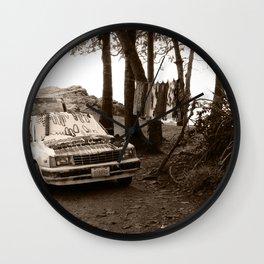 Sales Car Wall Clock
