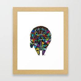 Hunka Junk Framed Art Print