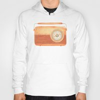 radio Hoodies featuring Radio Silence by One Curious Chip