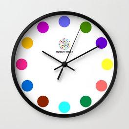 Robert Hirst Spot Clock 7 Wall Clock