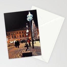 Winter City Stationery Cards