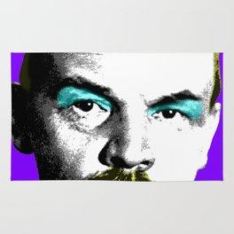 Ooh Mr Lenin - Purple Rug