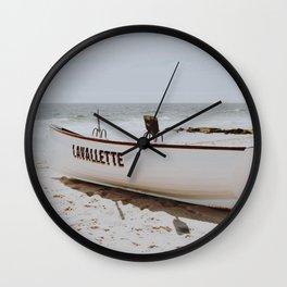 Boat Life II / Lavallette, New Jersey Wall Clock