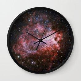 Star Forming Region Messier 17 Wall Clock