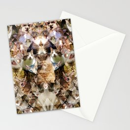 Cat Kaleidoscope Stationery Cards