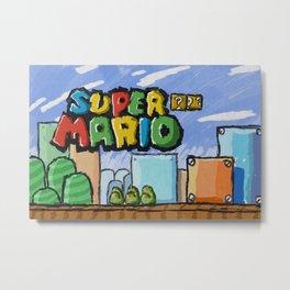 SuperSketchio Metal Print