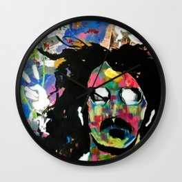 Frank Zappa Pop Art Wall Clock